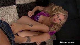 Busty Blonde Milf Julia...