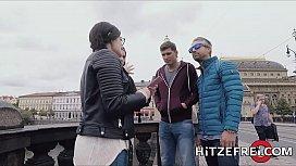 HITZEFREI Texas Patti finds a hung stranger to fuck