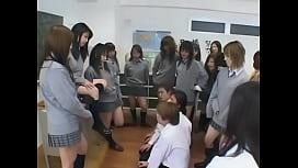 Japanese schoolgirls groupsex 1...