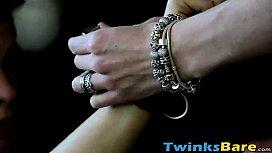 Horny hung twink Dakota...