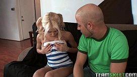TeamSkeet petite blonde teen...