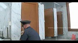 Gay cop catches thief...