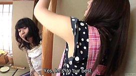 Subtitled Japanese risky sex...