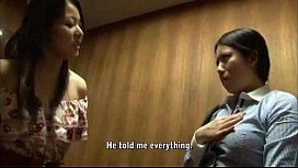 Japanes Lesbian Spanking...