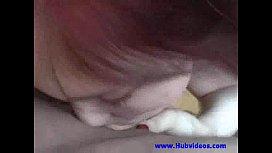 Huge tittied red head...