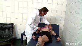 German Anal examination...