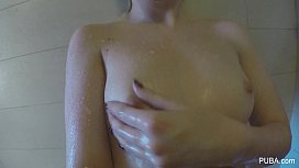 Samantha Rone Sexy Shower...
