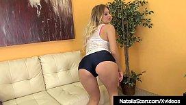Horny Natalia Starr Dildo...