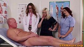 British cfnm nurses seducing...