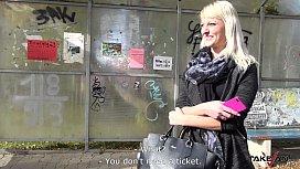 Takevan Blonde cheerleader pay...