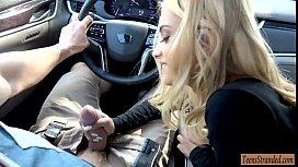 Pretty blonde teen babe...