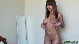 Booty pornstar rides cock...