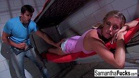 Boobed Samantha Saint Has Some Very Naughty Dreams