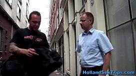 Amsterdam hooker fucked...