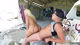 Fat ass Blondie Fesser...