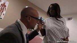 Pregnant black whore getting...