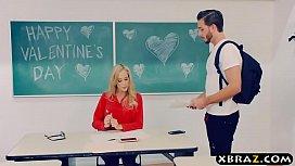 Mature teacher Brandi Love...