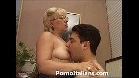 Mature Granny italian - nonna...