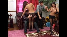 Rachel Roxxx Hot 4some...