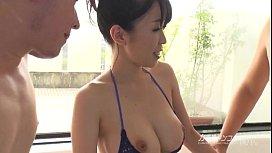 busty asian boobjon on bath threesome zootube1