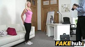 Fake Agent Hot Euro...