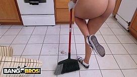 BANGBROS - Latina Maid Abby...