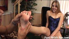 Total findom foot fetish...
