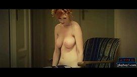 Amazing busty redhead MILF...