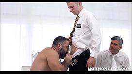 Mormon Jock Fucked By...