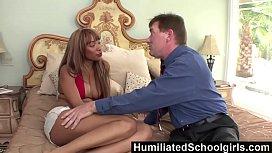 HumiliatedSchoolGirls - Ebony Bella Moretti...