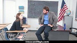 InnocentHigh - Naughty Schoolgirl Chloe...