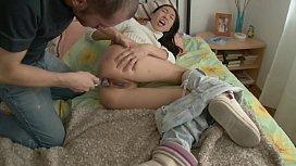 Asian Girl Caught Masturbating...