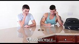 ManRoyale - Innocent massage turns...