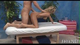 Massage sex movie scene...