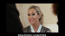 Sexy blond MILF Brandi...