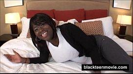 Big tits black teen...