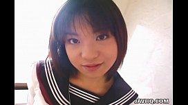 Pretty Japanese schoolgirl cumfaced uncensored xxx pak