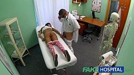 FakeHospital Young teen girl...