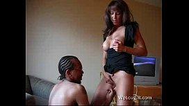 Black man get some good brunette pussy