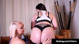 Big Boobed Nina Kayy...