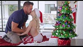Piper Perri unwraps her gift - Visit SideSkeet.com for more Piper Perri videos