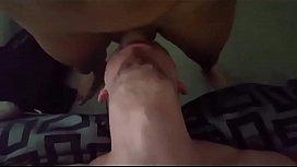 Cute white boy deepthroats...