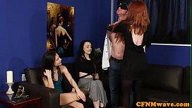 CFNM redhead gf sharing...