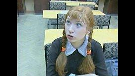 Russian Schoolgirl...