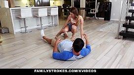 FamilyStrokes - Hot Teen Pounded...