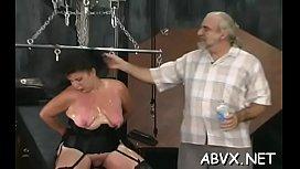 Top notch amateur slavery sex scenes with fine beauty