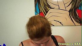 Solo tranny tugging her...