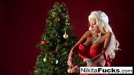Nikita Von James celebrates...