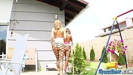 Sperm Swap Two girls...