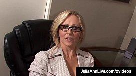 Working Woman Julia Ann...